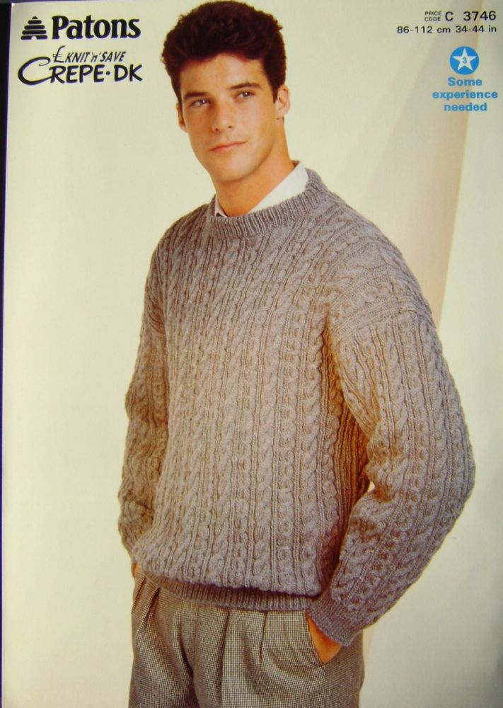 Patons Knitting Pattern 3746